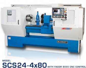 SCS Series CNC Lathes – 24″
